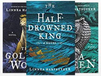The Half-Drowned King Book Series Golden Wolf Saga Linnea Hartsuyker