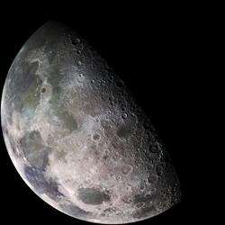 Earth's Moon. Image by NASA