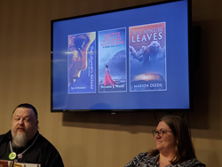 John Hartness and Melissa McArthur of Falstaff Books