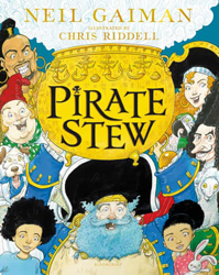 Cover for Pirate Stew, forthcoming from Neil Gaiman