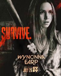 Poster for Syfy's Wynnona Earp Season 4