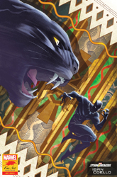 Black Panther cover by Iban Coello