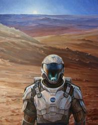 Mars Art by Lisa Mozzini McDill