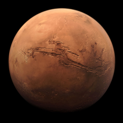 The Planet Mars, image courtesy of NASA