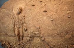 Mars Art by Elizabeth Pollnow
